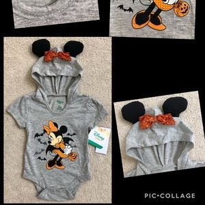 ❤️NWT's Halloween Minnie 3/6 Month
